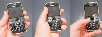 Nokia phones can be held any way you choose