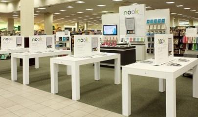 Barnes & Noble ramping up Nook displays in-store