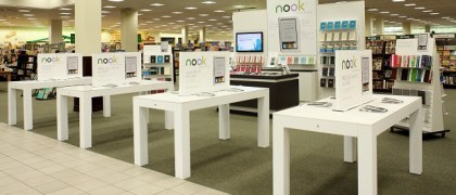 Barnes & Noble ramping up Nook displays in-store