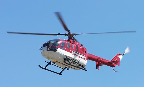 Helicopter InAir
