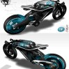 bird_02 French Designers Develop Air-Powered Saline Bird Motorcycle