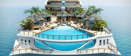 floating island yacht