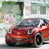 f1 Smart Forstars Concept Car Combines Car with Movie Projector