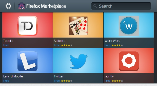 Firefox-market
