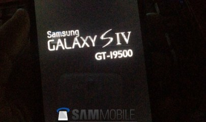 samsung galaxy s4 boot up