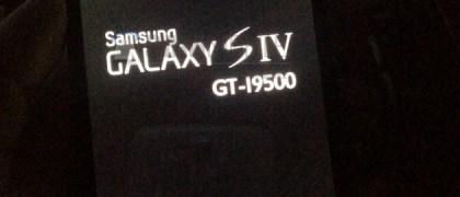 samsung galaxy s4 boot up