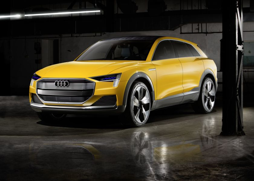 A160150_medium.0 Audi Unveils Hydrogen Concept Car In Detroit