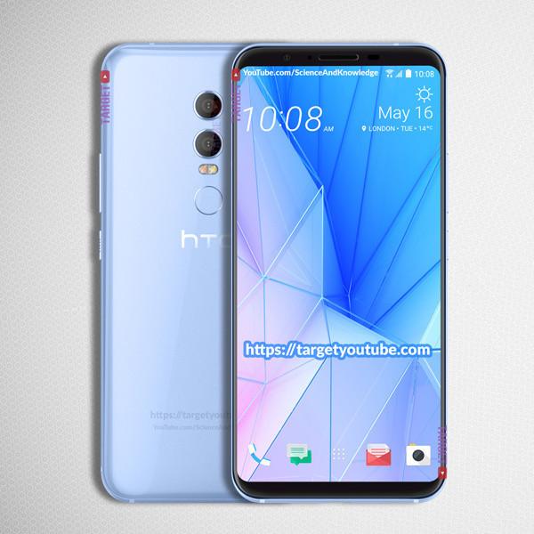 HTC U12blue