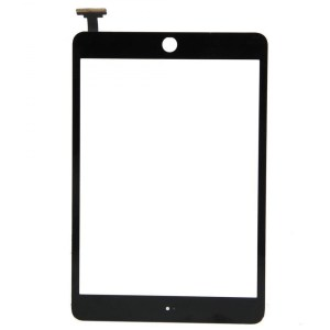 iPad Mini 1/2 Digitizer Touch Screen with Adhesive Tape – Black