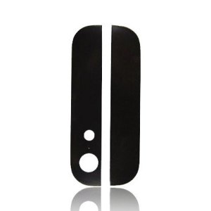 iPhone 5 Back Glass (Up & Down) Black