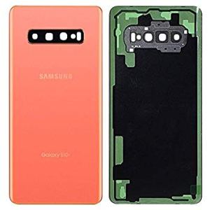 Galaxy S10 Plus (G975) Rear Glass WIth Adhesive & Camera Lens – Flamingo Pink