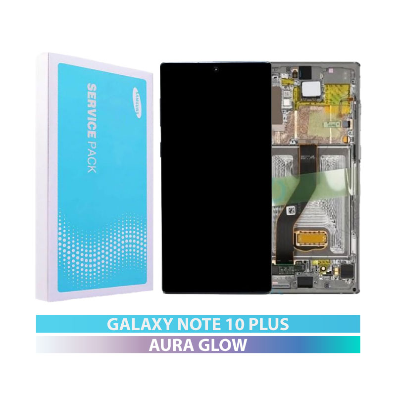 Galaxy Note 10 Plus N975 Service Pack Display Replacement Aura Glow