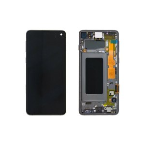 Galaxy S10 G973 Service Pack LCD Display Replacement Prism Black