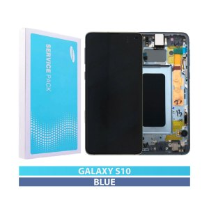 Galaxy S10 (G973) Service Pack Display Replacement Prism Blue