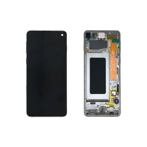 Galaxy S10 G973 Service Pack LCD Display Replacement Prism Green