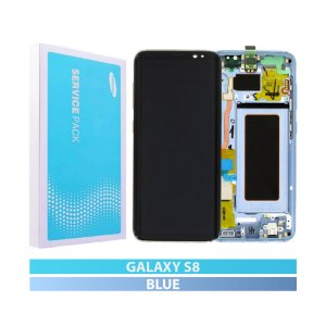 Galaxy S8 G950 Service Pack LCD Display Replacement Blue