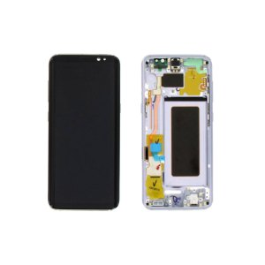 Galaxy S8 G950 Service Pack LCD Display Replacement Orchid Gray/ Violet