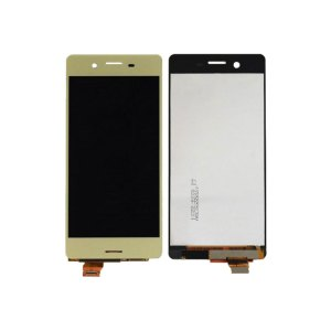 Sony X LCD and Digitizer Touch Screen Assembly W/F – Gold