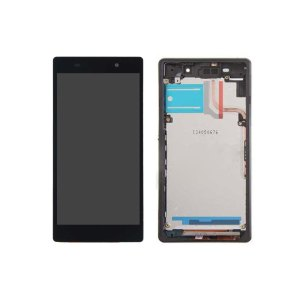 Xperia Z2 LCD and Digitizer Touch Screen Assembly With Frame – Black