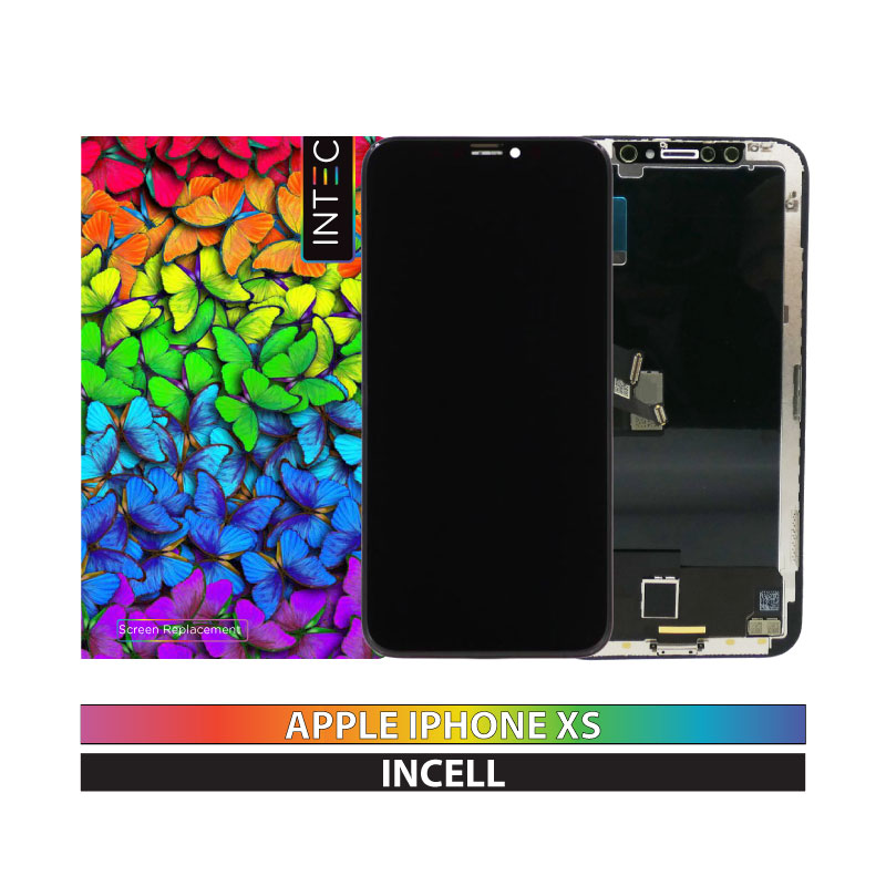 INTEC iPhone XS InCell LCD Display Replacement Black