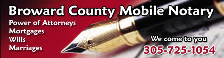 broward county mobile notary service
