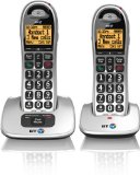 BT 4000 Cordless Big Button Phone with Nuisance Call Blocker (Pack of 2)