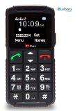 TTfone Dual 2 – Senior Mobile Phone Big Buttons SOS Large Display Dual Sim (Lebara Pay as you go)
