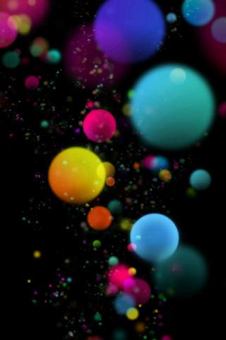 Download Colors 3D Balls IPhone Wallpaper Mobile