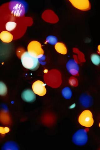 Download Light Bokeh Colors IPhone Wallpaper Mobile