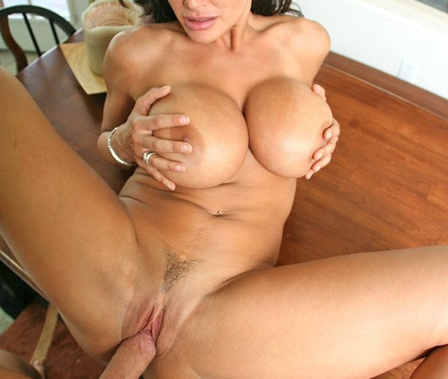 Lisa Ann Takes Big Hard Dick Into Kitchen To Suck And Fuck