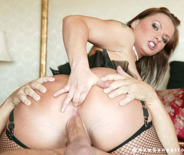 Beautiful Porn Star In Fishnets Gets Deep Dicked