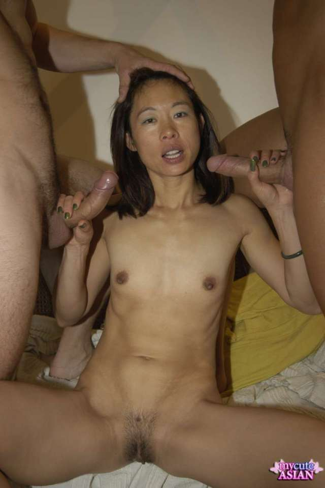 Asian Whores Fucked In This Hot Group Banging