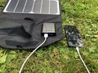Lad mobilen direkte fra solcellepanelet