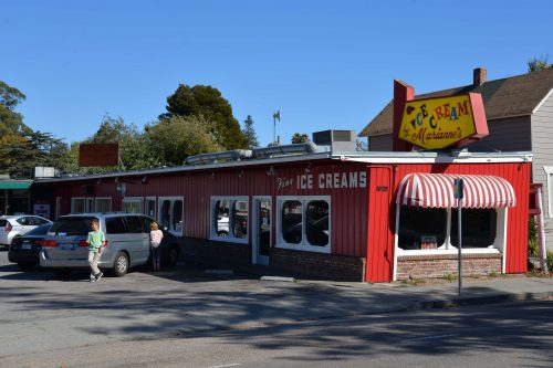 Marianne's Ice Cream on 1020 Ocean Street. Photo: Julia Gaudinski/Mobile Ranger