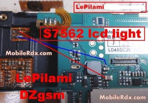 Samsung GTS7562 Display Problems Jumper Solution   MobileRdx