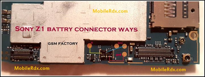Sony Xperia Z1 Battery Connecter Point Jumper MobileRdx