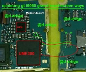 Samsung GTI9060 Touch Screen Jumper Solution Ways | MobileRdx