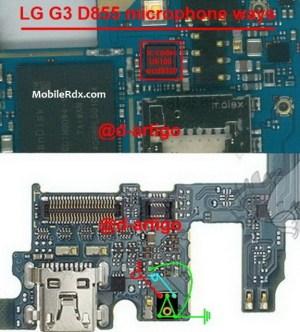 LG G3 D855 Microphone Problem Mic Ways Solution