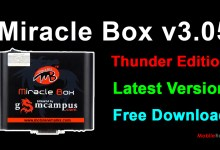 Photo of Miracle Box v3.05 Thunder Edition Latest Free Download