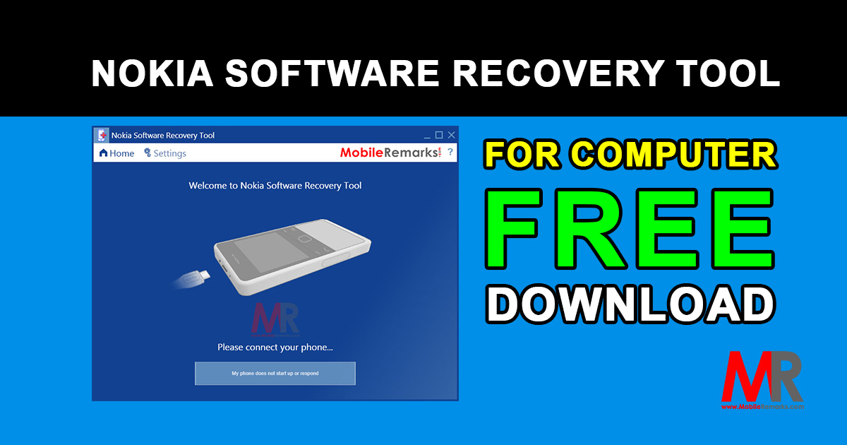 Nokia Software Recovery Tool Download for Windows