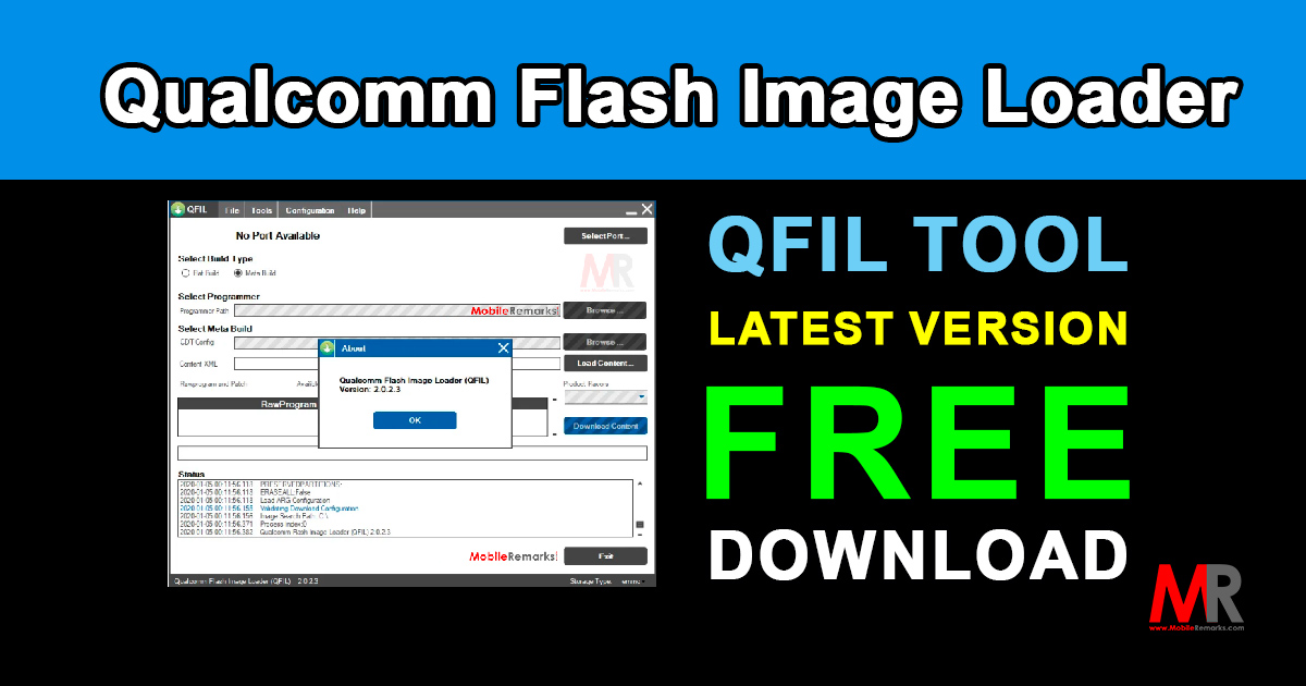 Qualcomm Flash Image Loader Qfil Tool Free Download