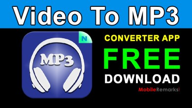 Photo of Video To MP3 Converter App Free Download
