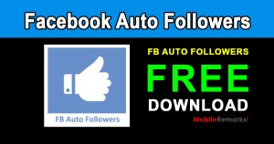 Facebook Auto Followers App Free Download