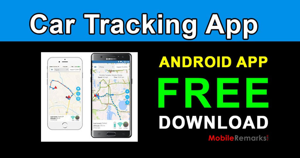 Car Tracking System Android App Free Download