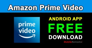 amazon prime video app free download