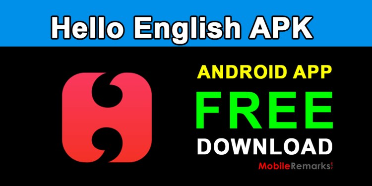 hello english learning english android app