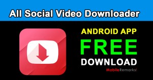 All Social Video Downloader apk free download