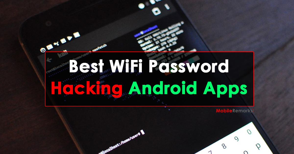 Best WIFI Password Hacking Apps for Android