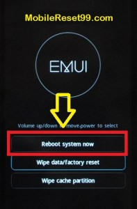 How to Reset Huawei Y5 Android Mobile - Simple Methods