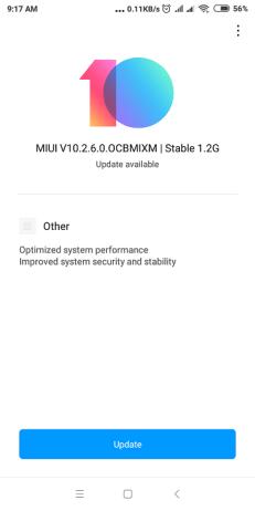 Mi 4S Update